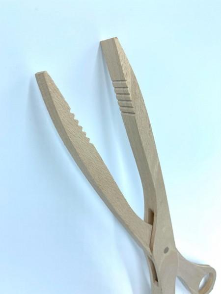 Grillzange Holzschere