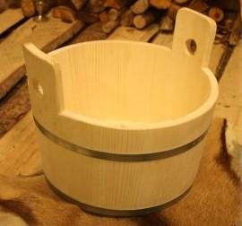 Mittelalter Holzbottich